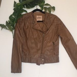 B.B. Dakota faux leather jacket